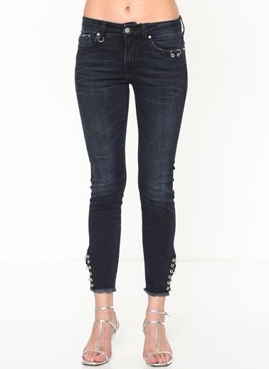 Jean Pantolon | Adriana Ankle - Super Skinny-Mavi